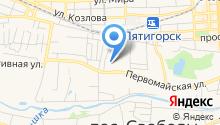 Гобелен на карте