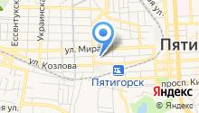 Инспекция Федеральной налоговой службы России по Ставропольскому краю в г. Пятигорске на карте