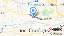 Детский сад №36, Красная гвоздика на карте