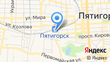 Железнодорожный вокзал на карте