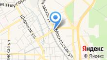 АЗС Пятигорские нефтепродукты на карте