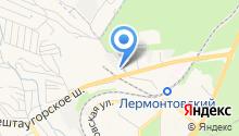 АВТОХОЛЛ центр Пятигорск на карте