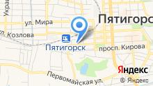 Бастион КМВ на карте