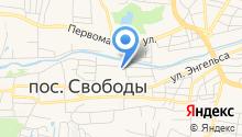 Почтовое отделение №551 на карте