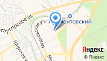 Астра, ТСЖ на карте