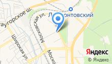 Гиро на ул. Фучика на карте