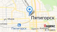 Женская консультация №2 г. Пятигорска на карте