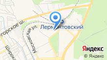 Вербена, ЗАО на карте