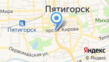 Пятигорский государственный университет на карте