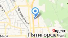 Пятигорский онкологический диспансер на карте