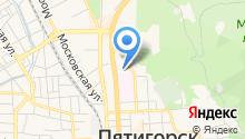 Женская консультация №1 г. Пятигорска на карте