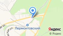 Пятигорская городская инфекционная больница на карте