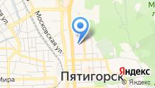 Городская клиническая больница г. Пятигорска на карте