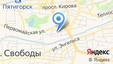 Street angel на карте