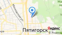 Центральная городская больница г. Пятигорска на карте