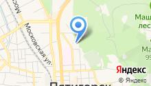 Бумага-СКФО на карте