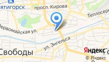 СТО-1 на карте