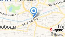 Namia на карте