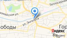 Пятигорский Прибороремонтный завод на карте