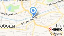 Evacorp на карте
