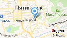 Кавказская здравница на карте