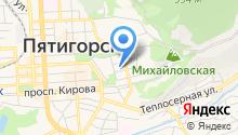 Детский сад №1, Василёк на карте