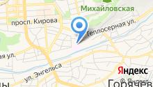 Второй военный госпиталь внутренних войск МВД России на карте