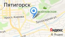 ЗАГС г. Пятигорска на карте