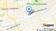 Аркомстрой на карте