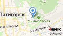 Гидрологическая станция на карте