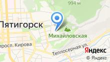 Гидрометеорологическая станция на карте