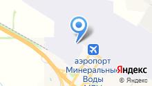 Авиационный грузовой терминал на карте