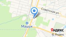Кавказская мемориальная компания на карте