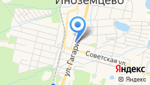 Пуговка на карте