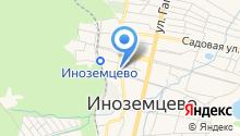 Магазин мясных продуктов на карте