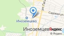 Администрация пос. Иноземцево на карте