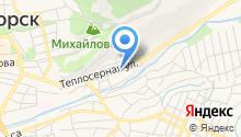 Детский сад №9, Ласточка на карте