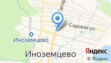 Февос на карте