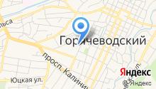 Ставропольский краевой госпиталь для ветеранов войн на карте