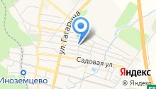 На Первомайской на карте