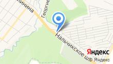 Глубокинский кирпичный завод на карте