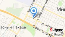 Специализированная пожарно-спасательная часть ФПС по Ставропольскому краю на карте