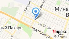 Мюних на карте
