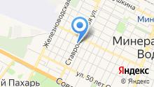 Ставрополькоммунэлектро, ГУП на карте