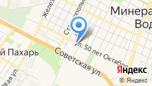 Фонд микрофинансирования субъектов малого и среднего предпринимательства в Ставропольском крае, НКО на карте