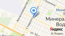 Отдел Военного комиссариата по г. Минеральные Воды и Минераловодскому району на карте
