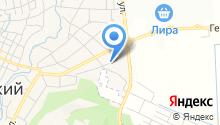 Терский казачий рынок на карте
