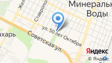 Минераловодская техническая школа на карте