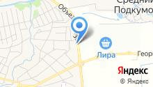 Магазин карнизов и фурнитуры на карте