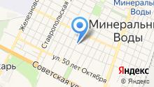 Мировые судьи г. Минеральные Воды и Минераловодского района на карте